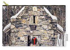 Stone Chapel In The Woods Trapp Family Lodge Stowe Vermont Carry-all Pouch