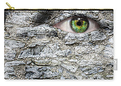 Stone Face Carry-all Pouch by Semmick Photo