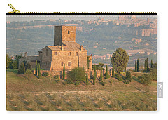 Carry-all Pouch featuring the photograph Stone Farmhouse by Marcia Socolik