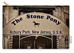 Stone Pony Enter Here Carry-all Pouch by Paul Ward
