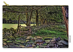 Stone Walled Carry-all Pouch by Tom Prendergast