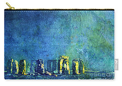 Stonehenge In Moonlight Carry-all Pouch