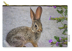 Carry-all Pouch featuring the photograph Stop And Smell The Flowers by Tammy Espino