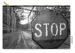 Stop Sign Carry-all Pouch by Michael Krek