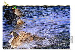 Stop Splashing Carry-all Pouch by Bobbee Rickard