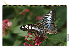 Carry-all Pouch featuring the photograph Stopping By by Denyse Duhaime