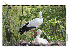 Storks Nesting Carry-all Pouch