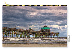 Storm Clouds Approaching - Hdr Carry-all Pouch