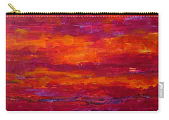 Storm Clouds Sunset Carry-all Pouch
