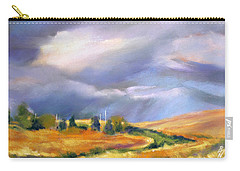 Storm Colors Carry-all Pouch by Rae Andrews