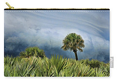 Storm Coming Carry-all Pouch by Kenny Francis