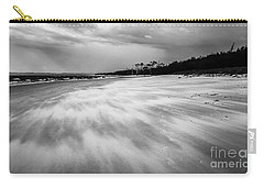 Storm Front On The Beach Carry-all Pouch