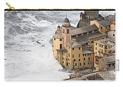 Storm In Camogli Carry-all Pouch