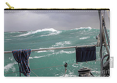 Storm On Tasman Sea Carry-all Pouch