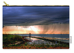 Storm On The Bay Carry-all Pouch