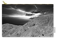 Carry-all Pouch featuring the photograph Storm On The Mountain by Athala Carole Bruckner