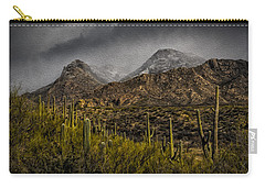 Storm Over Catalinas Aso Carry-all Pouch by Mark Myhaver