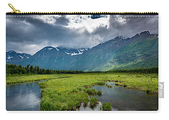 Storm Over The Mountains Carry-all Pouch