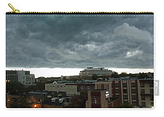 Storm Over West Chester Carry-all Pouch by Ed Sweeney