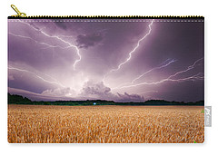 Storm Over Wheat Carry-all Pouch