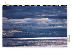 Carry-all Pouch featuring the photograph Storm Supremacy by Jordan Blackstone