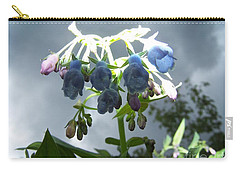 Stormy Bluebells Carry-all Pouch