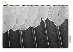 Stormy Feathers Carry-all Pouch by Judy Whitton