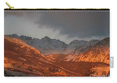 Stormy Monday Carry-all Pouch by Fiona Kennard