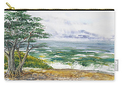 Stormy Morning At Carmel By The Sea California Carry-all Pouch