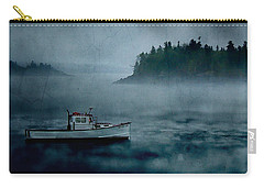 Stormy Night Off The Coast Of Maine Carry-all Pouch