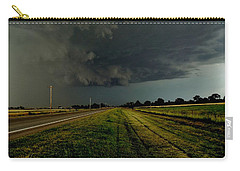 Stormy Road Ahead Carry-all Pouch
