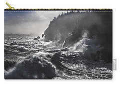 Stormy Seas At Gulliver's Hole Carry-all Pouch by Marty Saccone
