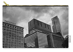 Carry-all Pouch featuring the photograph Stormy Skies by Miguel Winterpacht