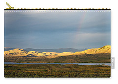 Stormy Sky With Rays Of Sunshine Carry-all Pouch by Nadja Rider