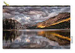 Stormy Sunset At Tenaya Carry-all Pouch by Cat Connor