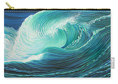 Stormy Wave Carry-all Pouch