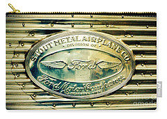 Stout Metal Airplane Co. Emblem Carry-all Pouch
