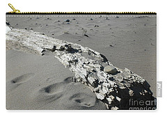 Carry-all Pouch featuring the photograph Stranded by Christiane Hellner-OBrien