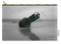 Carry-all Pouch featuring the photograph Stranded Too by Angela DeFrias