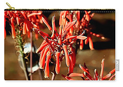 Carry-all Pouch featuring the photograph Strange Delight by Debra Forand