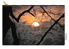Carry-all Pouch featuring the photograph Strange Morning by EricaMaxine  Price