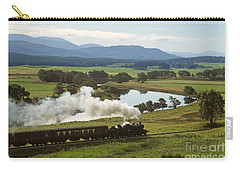 Carry-all Pouch featuring the photograph The Strathspey Railway by Phil Banks