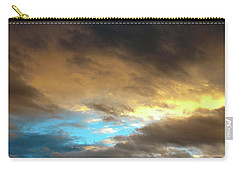 Stratus Clouds At Sunset Bring Serenity Carry-all Pouch