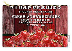 Strawberry Farm Carry-all Pouch