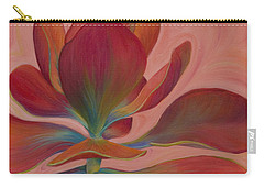 Carry-all Pouch featuring the painting Strawberry Flapjack by Sandi Whetzel