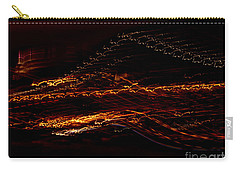Streaks Across The Bridge Carry-all Pouch by Paulo Guimaraes