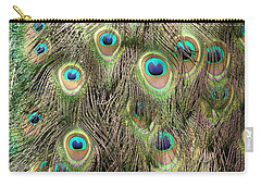 Carry-all Pouch featuring the photograph Stream Of Eyes by Diane Alexander