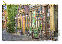 Street In Ghent Carry-all Pouch