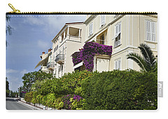 Carry-all Pouch featuring the photograph Street In Monaco by Allen Sheffield