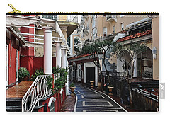 Street Of Capri Carry-all Pouch